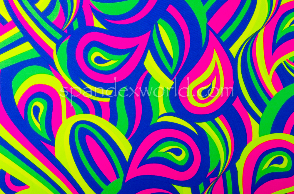 Abstract  Prints  (Fuchsia/Blue/Multi)
