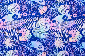 Leaf Prints (Navy/Paste/Multi)