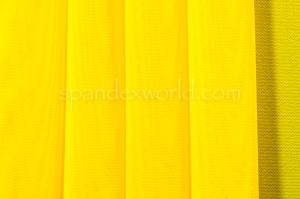 Stretch Solid Mesh-shiny (Yellow)