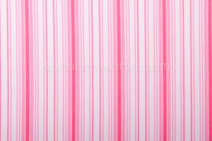 Printed Stripes (White/Pink)
