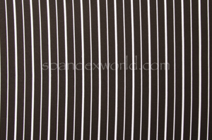 Printed Stripes (Black/White)
