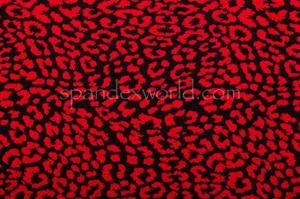 Animal Prints (Black/Red)