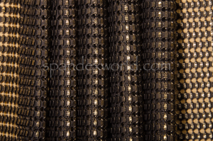 Novelty Spandex (Black/Gold)