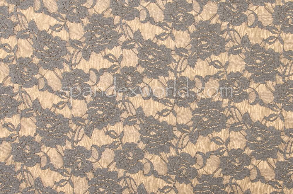 Glitter/Pattern Mesh (Gray)