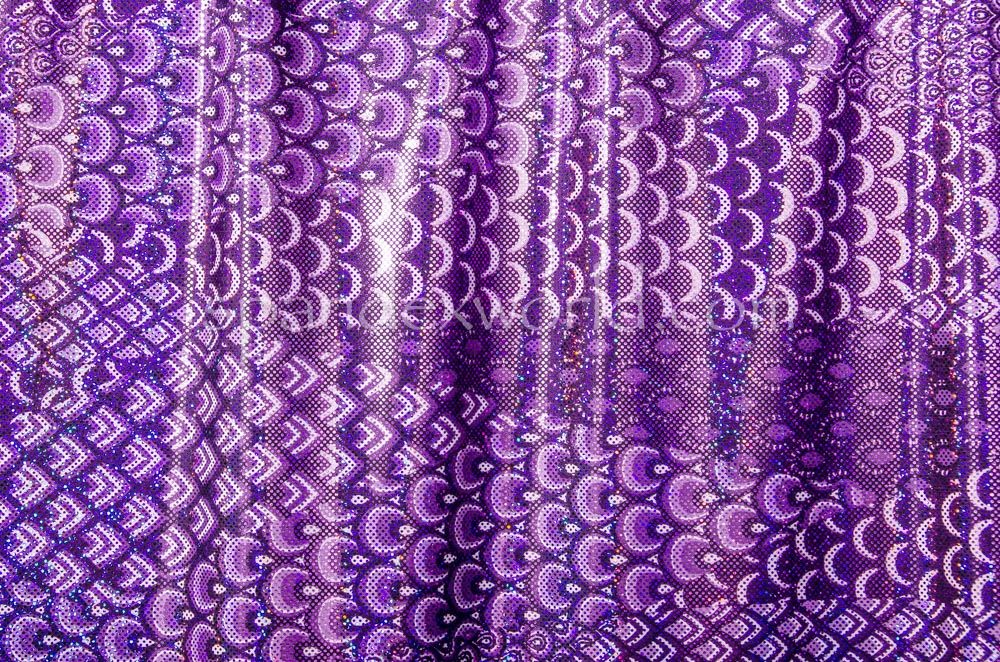 Pattern Abstract  Hologram (Purple)