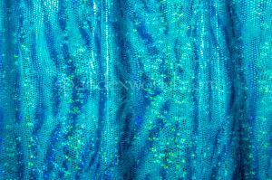 Animal Print Hologram (Blue/Turquoise)