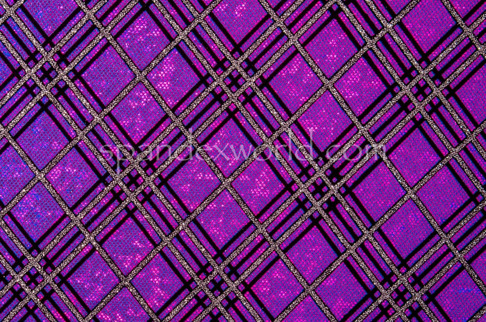 Pattern/Abstract Hologram (Purple/Grape Holo/Black)