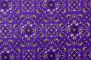 Pattern/Abstract Hologram (Purple/Silver/Black)