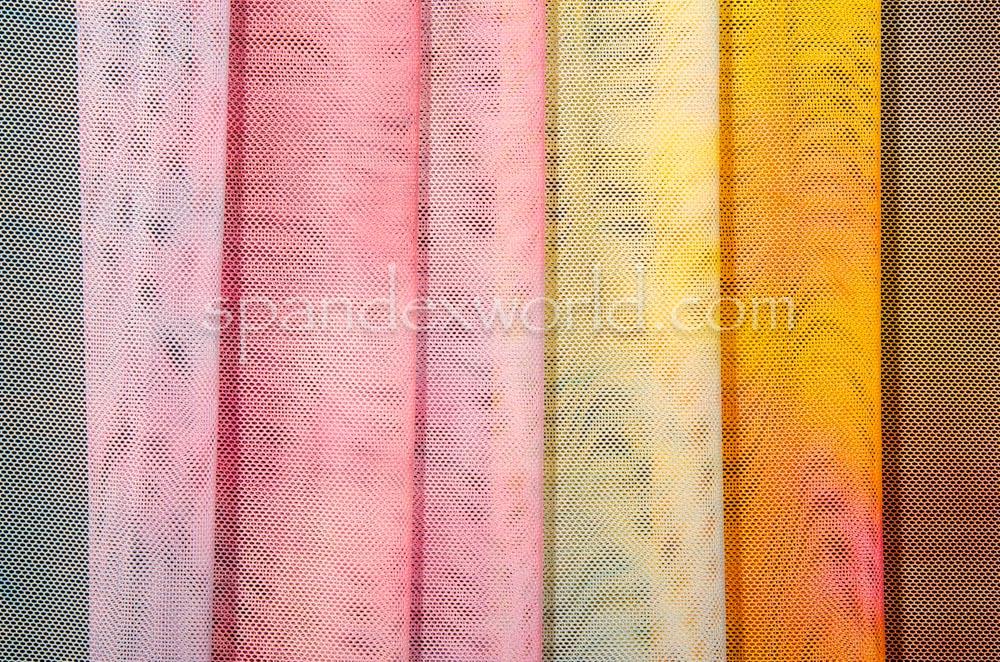 Tie Dye Mesh (Lilac/Pink/Multi)