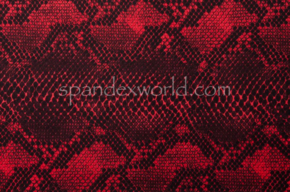 Snake Prints (Black/Red)