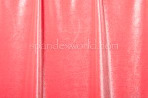 Stretch Solid Velvet (Coral)