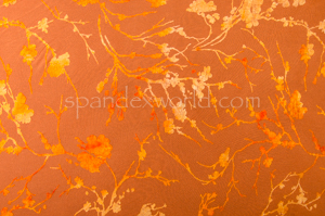 Glitter/Pattern Mesh (Copper)