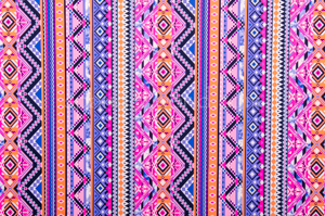 Aztec prints  (Blue/Pink/Multi)