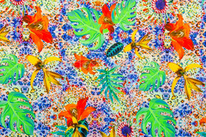 Animal prints  (Blue/Yellow/Multi)