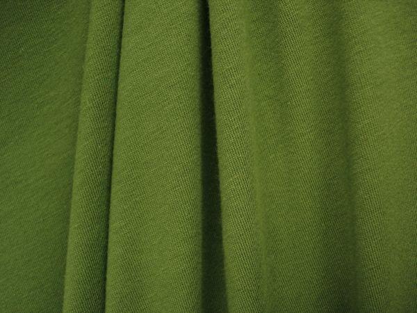 Cotton Lycra® (Olive)(Medium weight)