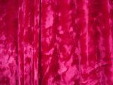 Stretch Crushed Velvet (Fuchsia)