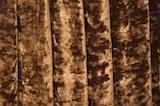 Stretch Crushed Velvet (Brown)