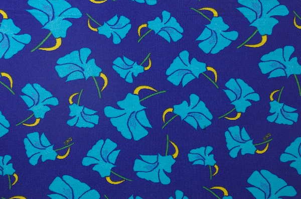 Printed Mesh (Royal, Turquoise, Yellow)