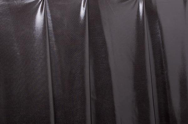 2 Way Metallic Spandex (Black)