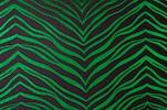 Animal Print Hologram (Black, Green)