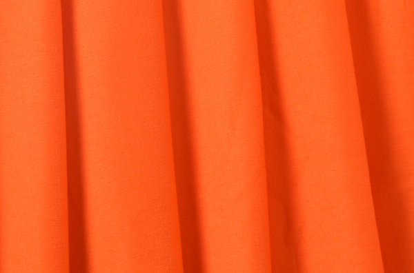 Cotton Lycra® (Bright Orange)(Medium-weight)
