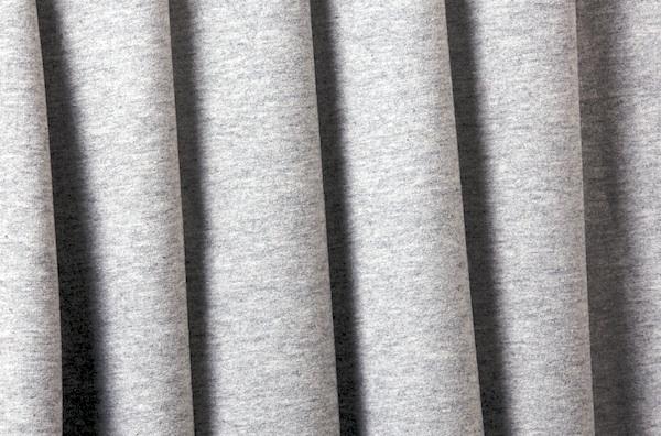 Cotton Lycra® (Light heather Gray)(Medium-weight)