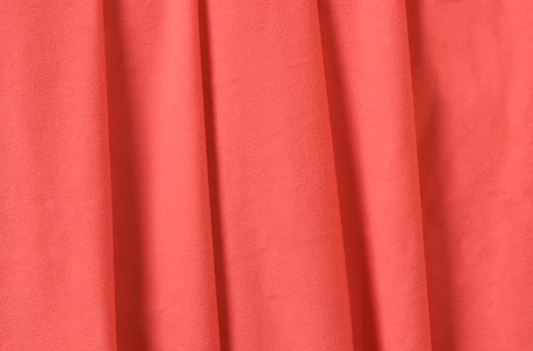Cotton Lycra® (Coral)(Medium-weight)