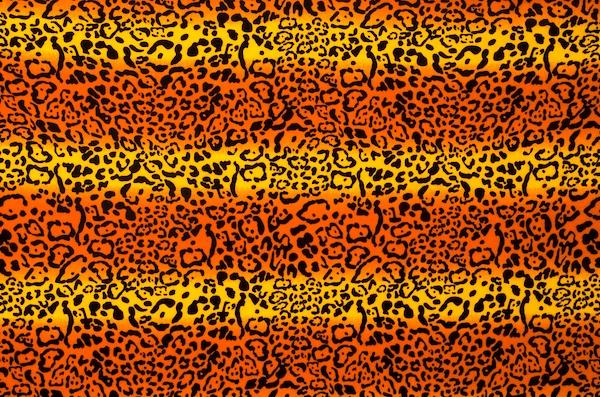 Animal Prints (Orange, Yellow, Multi) (Poly)