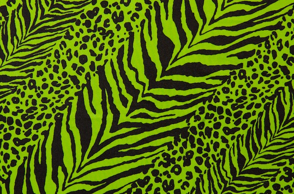 Animal Prints (Neon Lime)