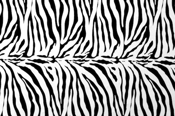 Animal Prints -Light weight (Black/White)