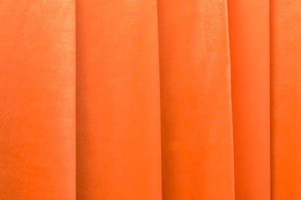 Satin Spandex-medium  weight- (Orange)