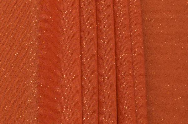 Sheer Glitter/Pattern (Orange/Orange)