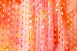 Glitter/Pattern Stretch Velvet (Orange, Multi)