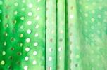 Glitter/Pattern Stretch Velvet (Lime, Multi)