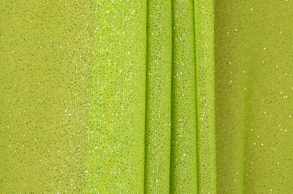 Sheer Glitter/Pattern (Lime)
