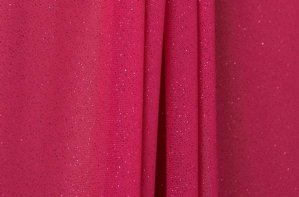 Sheer Glitter/Pattern (Fuchsia/Fuchsia)