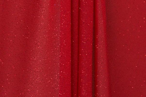 Sheer Glitter/Pattern (Red)