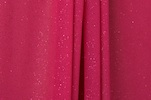 Sheer Glitter/Pattern (Fuchsia)
