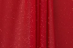 Sheer Glitter/Pattern (Red)