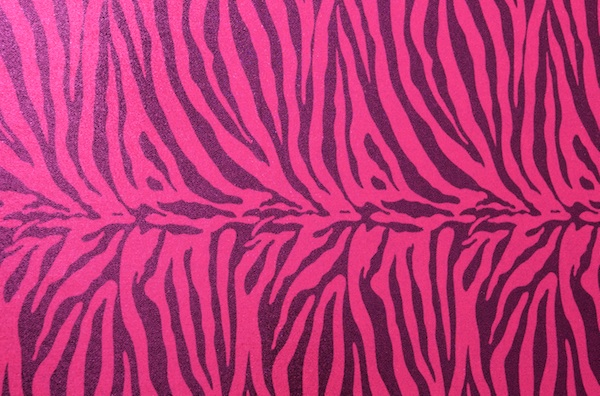 Animal Print Hologram (Pink/Black)
