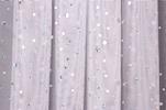 Glitter/Pattern Mesh (White/Silver)
