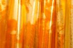 Tie Dye Metallic Spandex (orange/gold)