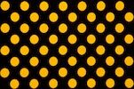 Polka Dots (Black/Yellow)