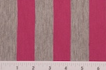 Printed Stripes (Pink/Gray)