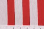 Printed Stripes (Red/White)