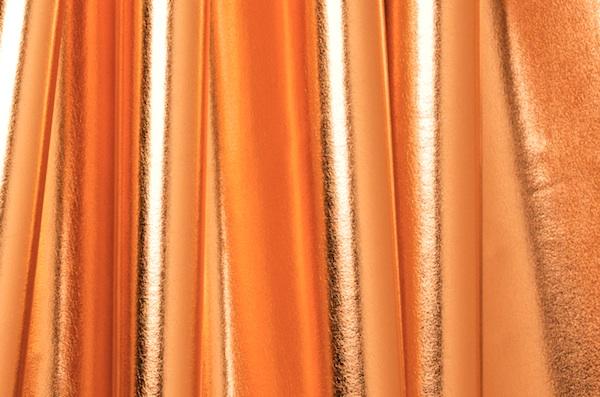 4 Way Metallic Spandex-shiny (Copper)