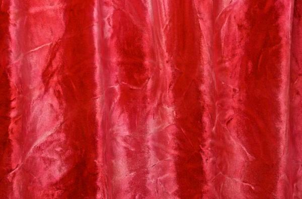 Tie Dye Stretch Velvet (Strawberry/Multi)