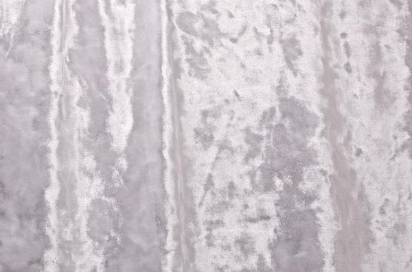 Stretch Crushed Velvet (White)