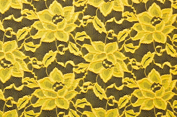 Stretch Lace (Yellow)