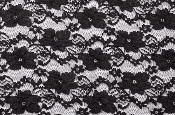 Stretch Lace (Black)